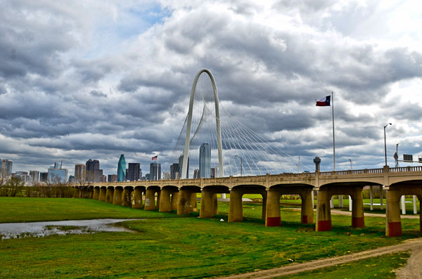 Santiago Calatrava Bridge Dallas