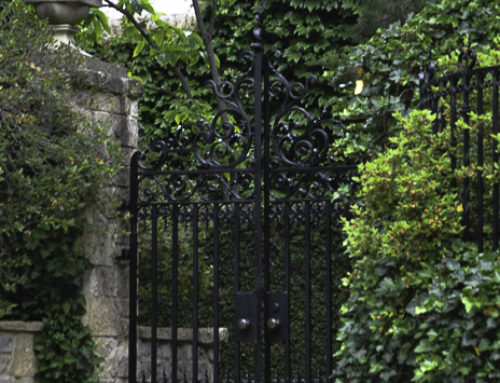 Garden Gates and Welcoming Doors