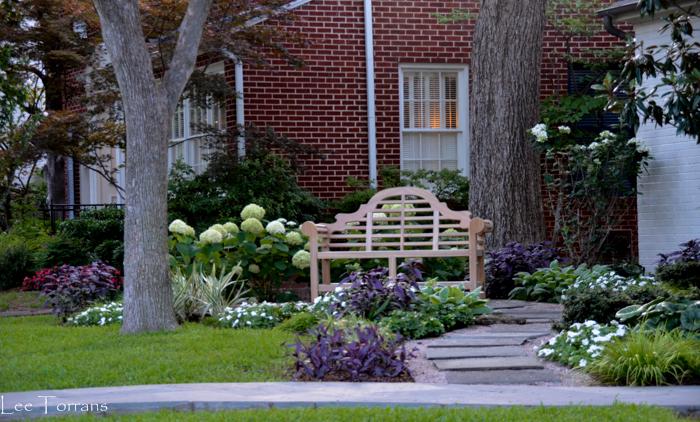 Perennial Shade Garden Texas