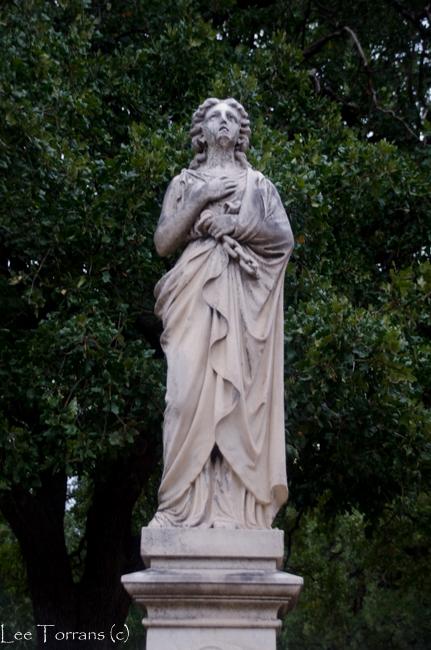 Cemetery East of Pioneer Plaza Dallas