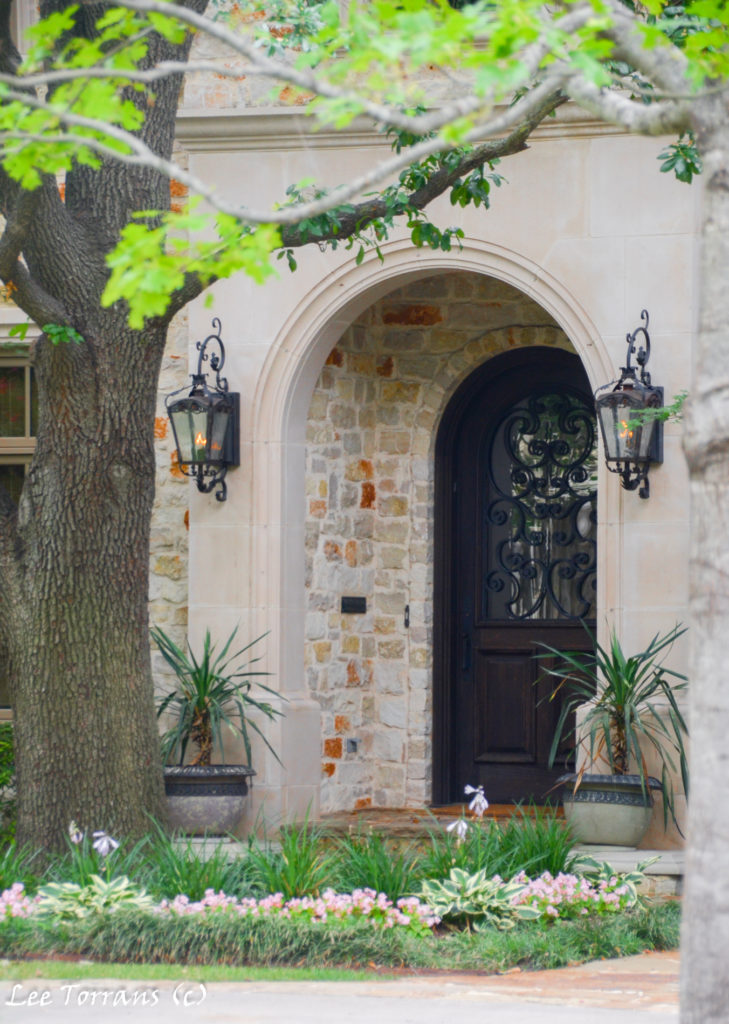Dallas Texas Landscaping Entrance and Doors