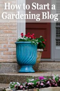 How to Start a WordPress Gardening Blog